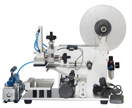 Полуавтоматическая этикетировочная машина для плоской тары